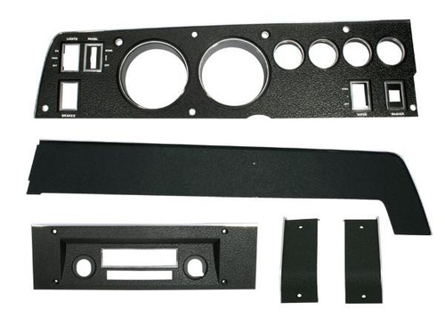 142 Mopar 1970 B-body Rallye Dash Bezel Kit