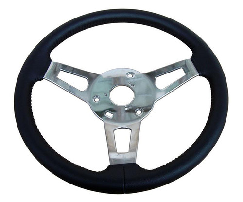 256-BS-C 1970-74 Mopar A,B,C,E-Body Leather Tuff Steering Wheel