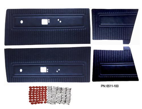 6511 Mopar 1971 Dart Swinger Scamp Door Panels Front & Rear Set