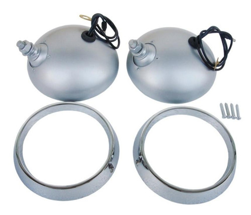 2209-NB Mopar 1970-71 Plymouth Cuda Road Lamp Housing and Bezel Kit