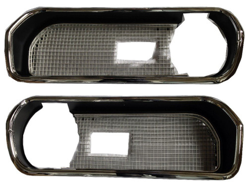 3309-HBKIT Mopar 1969 Plymouth Barracuda Complete Grille Assembly