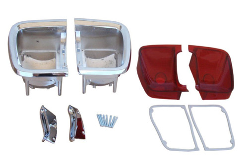 306-BLKIT Mopar 1969 Plymouth Barracuda Taillight Kit