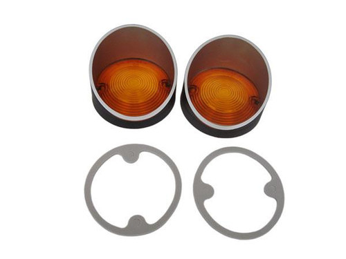 1379-L68 Mopar Dodge Coronet (Superbee) Parking Light Lenses