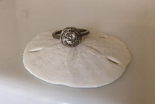 Evangeline Palladium White Gold Engagement Ring