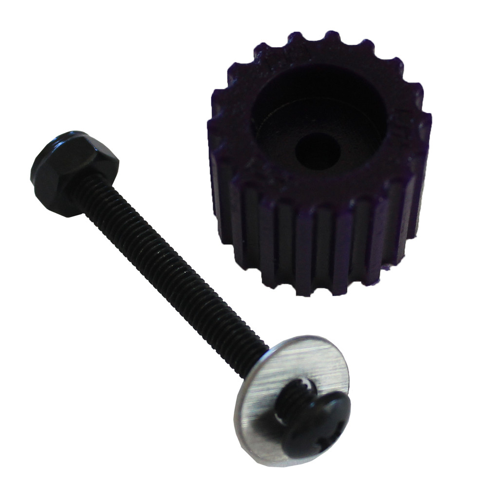 PSD KoMotion FootStop, Purple Comes with a nut, bolt, washer & 2 stickers