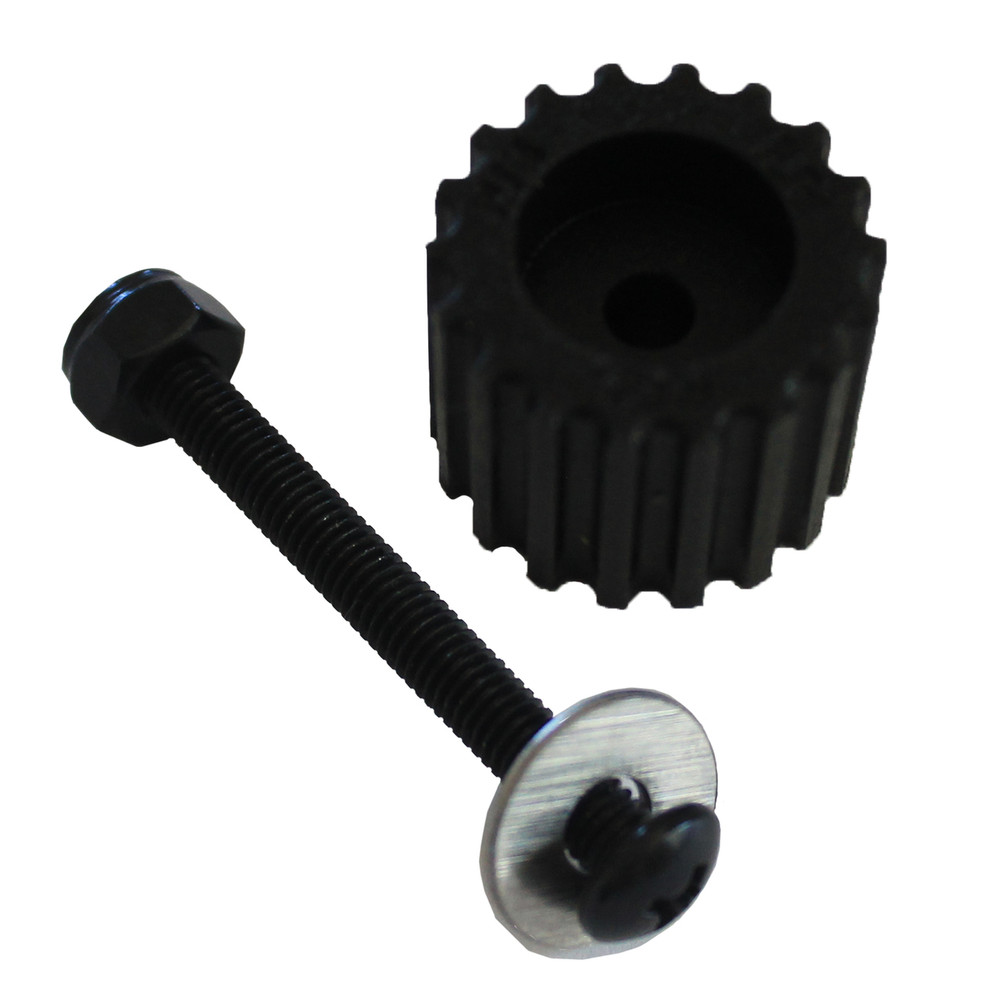 PSD KoMotion FootStop, Black Comes with a nut, bolt, washer & 2 stickers
