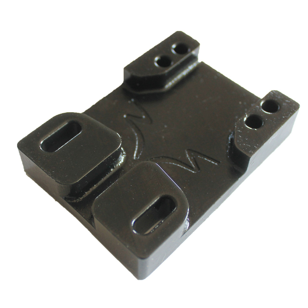 Tunnel Risers for eSk8 wire routing - Black