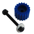 PSD KoMotion FootStop, Blue Comes with a nut, bolt, washer & 2 stickers