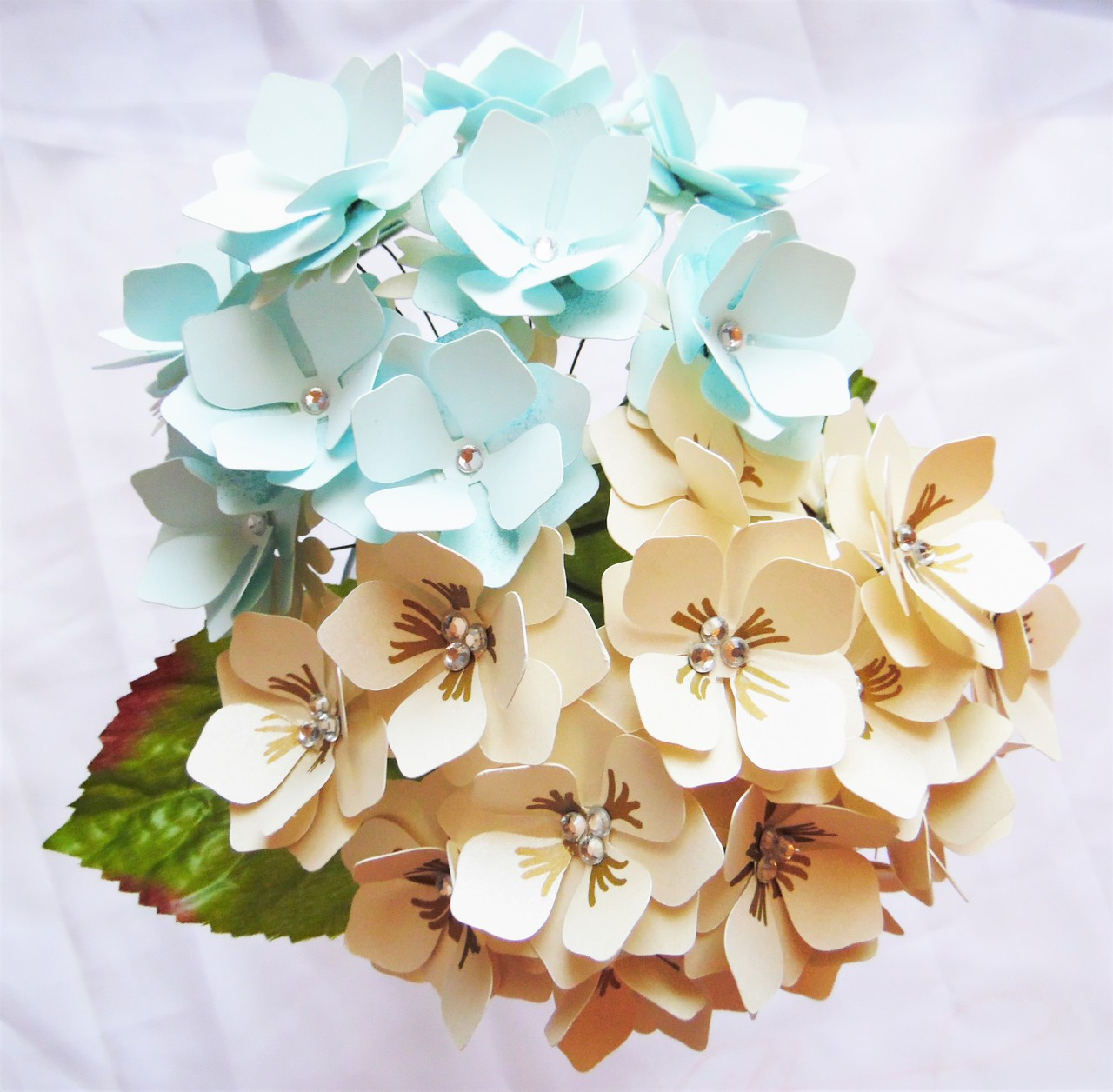 Hydrangeas Paper Flower Templates Catching Colorflies