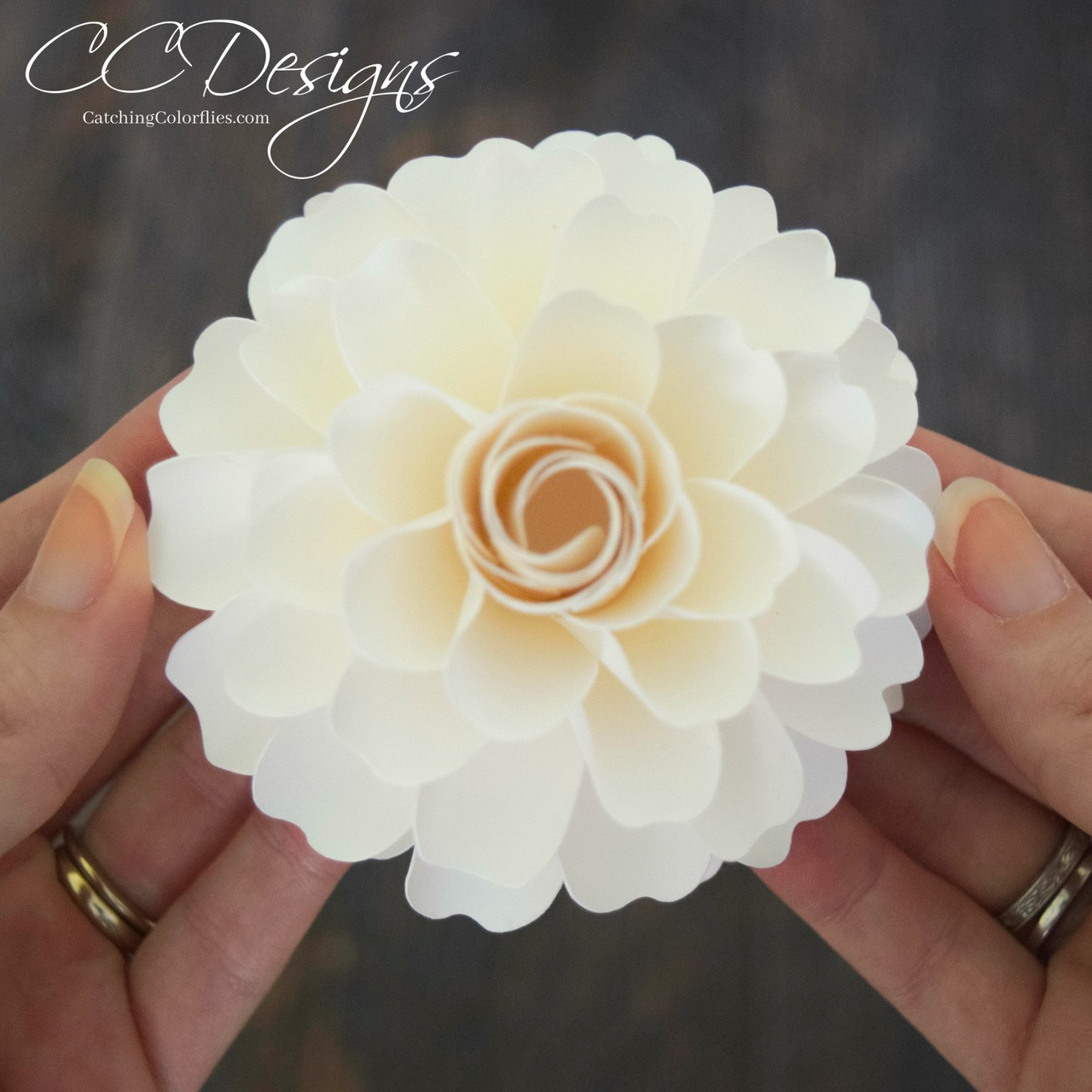 Dahlia paper flower templates catching colorlfies mightylinksfo