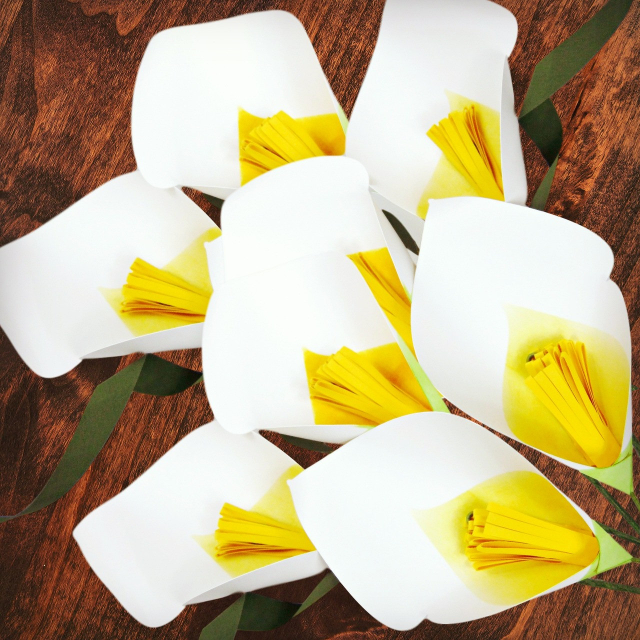 Calla lily paper flower templates catching colorflies izmirmasajfo