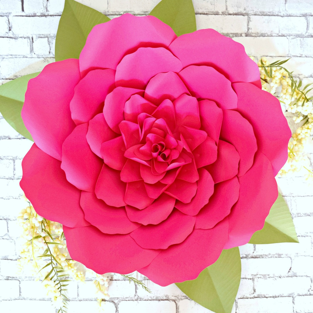 Giant Paper Flower Peony Templates Lacey Style Flower Catching