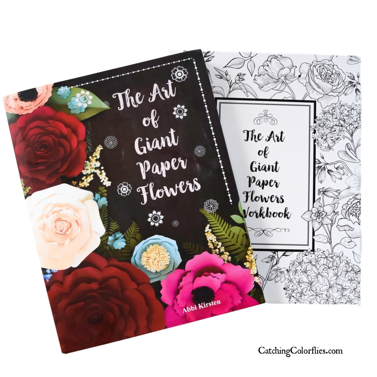 The Art Of Giant Paper Flowers Hardback Art Book With Flower