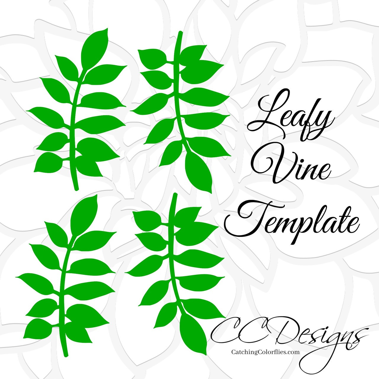 small gardenia paper flower template catching colorlfies