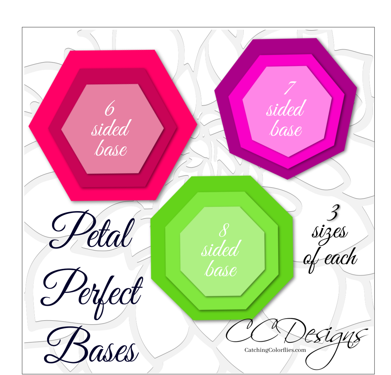Petal perfect bases for large giant paper flower templates petal perfect bases for large giant paper flower templates catching colorflies izmirmasajfo
