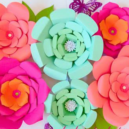 Set of 3 Flower Templates- Sarah, Everly, & Priscilla Style ...