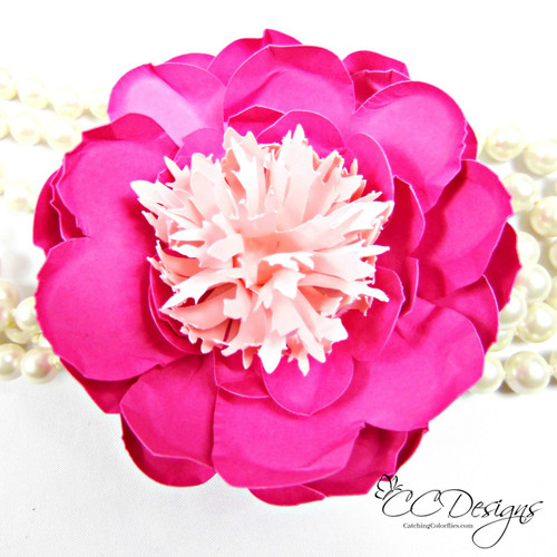 Small tulip peony paper flowers catching colorlfies small tulip peony paper flowers mightylinksfo Choice Image