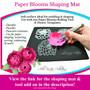 Paper Flower Wedding Bouquet Flower Template Set