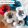 Anemone paper flowers