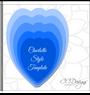 Charlotte & Giselle set of 2 Paper Flower Templates