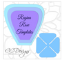 Regina rose templates included.  4 petal sizes and center are included. The video tutorial teaches with 3 petal sizes but we had requests to provide a 4th petal size for hard copy templates.