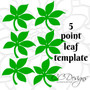 Carnation Paper Flower Templates