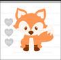 Cute Baby Fox SVG