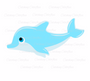 Dolphin SVG Cutting File