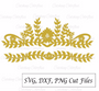 Princess/Fairy Crown SVG Cut Files