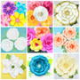 Giant Paper Flower Template Library Bundle - SET OF 60+ Templates