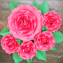 """Check out our matching small Alora template under  the""""Rose Template"""" section."""