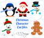 Christmas Characters Set of 5