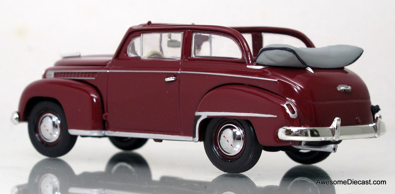minichamps 1 43 1951 opel olympia convertible awesome. Black Bedroom Furniture Sets. Home Design Ideas