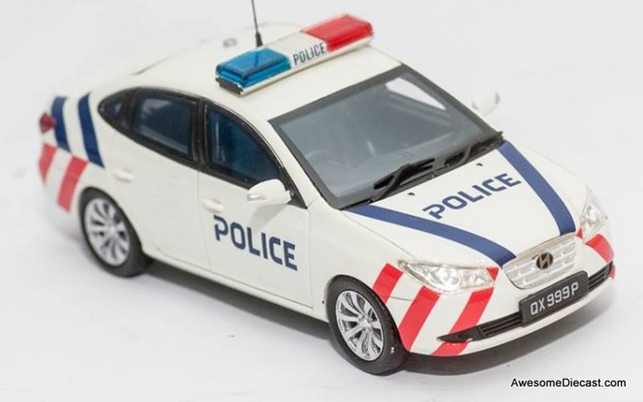 Masterpiece 1:43 Hyundai Fast Response Unit: Singapore Police Force