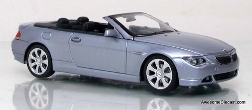 Minichamps 1:43 2006 BMW 6-Series Cabriolet