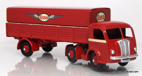Norev/Dinky 1:43 Panhard W/ Trailer - Esso Oil