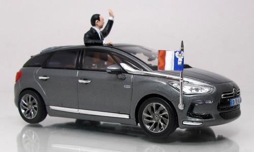 Norev 1:43 2012 Citroen DS5 Gris Galena Presidential Sedan