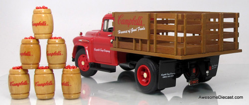 Ertl 1:25 1957 Chevrolette 8400 with Barrel Load - Campbell's Soup