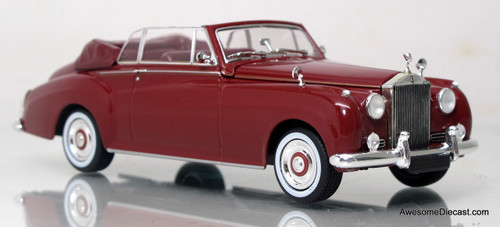 Minichamps 1:43 1960 Rolls Royce Silver Cloud II Cabriolet Red