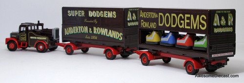 Corgi 1:50 Scammell Highwayman Closed Pole Trailer & Dodgem Trailer