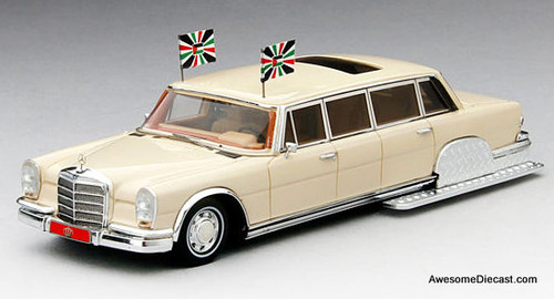 TSM 1:43 1975 Mercedes-Benz 600 Pullman: King Hussein of Jordan
