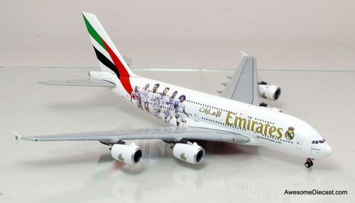Gemini Jets 1:400 Airbus A380 - Emirates (Real Madrid)
