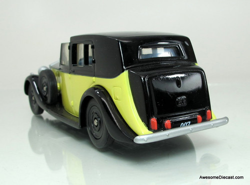 ONLY ONE - Corgi 1:36 Rolls Royce James Bond 007: Goldfinger