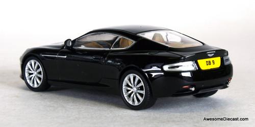 Oxford Diecast 1:43 Aston Martin DB9 Coupe: Onyx Black
