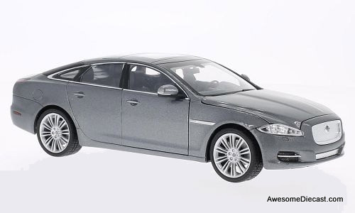 Welly 1:24 2010 Jaguar XJ metallic grey