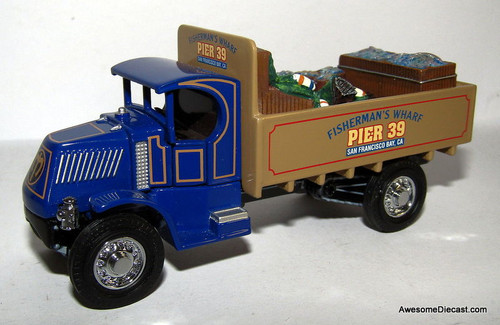 Matchbox Collectibles 1:43 1920 Mack: Fisherman's Wharf