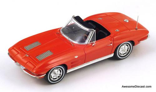 Spark 1:43 1963 Chevrolet Corvette C2 Sting Ray Convertible S2969