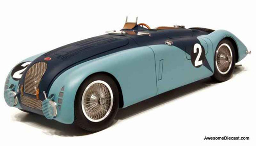 ONLY ONE - Le Mans 1:24 1937 Bugatti 57G #2 Winner