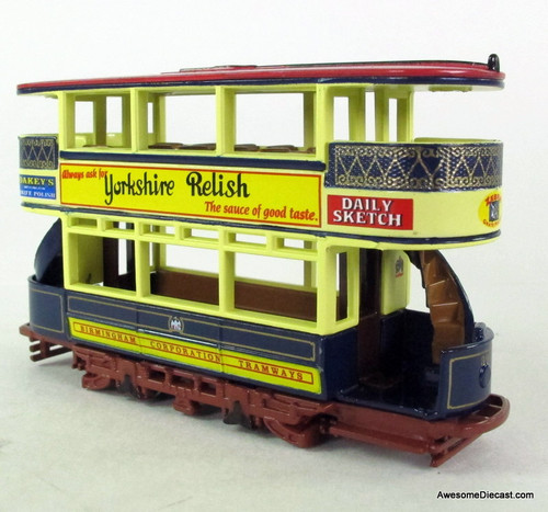 ONLY ONE - Matchbox Collectibles 1:43 1920 Preston Tram Car