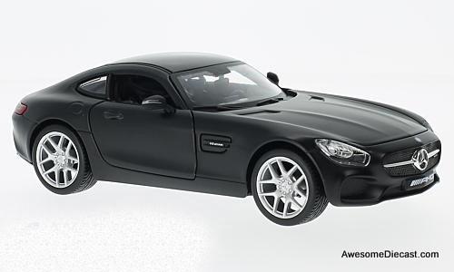 Maisto 1:24 Mercedes-Benz AMG GT Matte Black